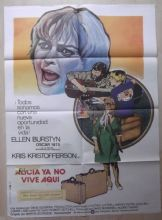 Alice Doesn't Live Here Anymore, Spanish Movie Poster, Kristofferson,Burstyn '74
